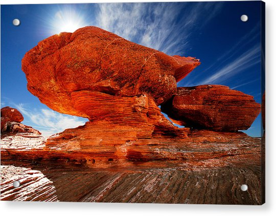 Rock Formation Acrylic Print