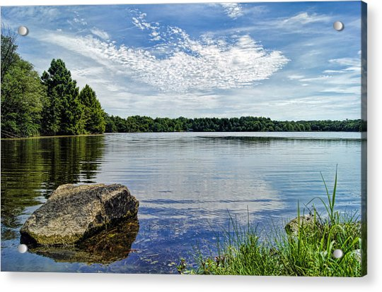 Rocky Fork Lake Acrylic Print