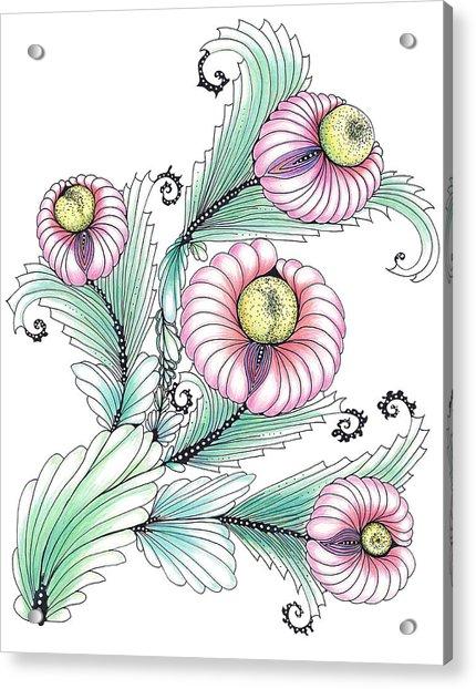 Romashki Acrylic Print