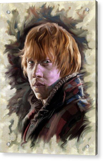 Ron Weasley, Harry Potter Portrait Acrylic Print