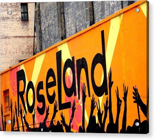 Roseland Ballroom In Nyc Acrylic Print