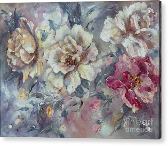 Roses From A Friend Acrylic Print