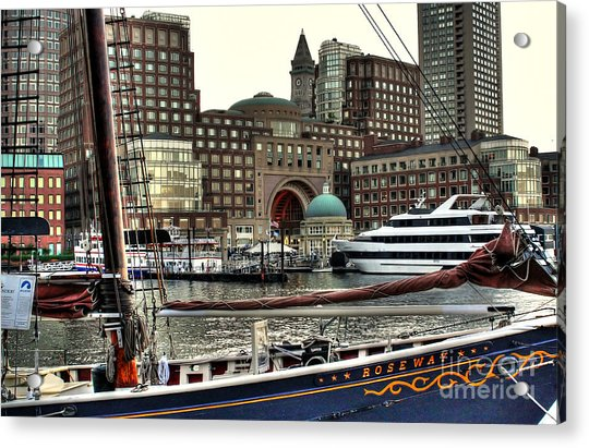 Roseway Boston Acrylic Print