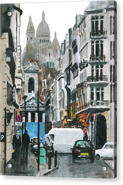 Rue Lafitte Acrylic Print