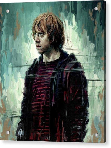 Rupert Grint As Ronald Weasley Acrylic Print