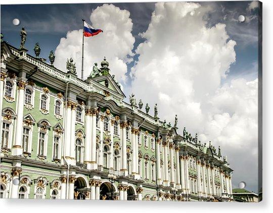Russian Winter Palace Acrylic Print