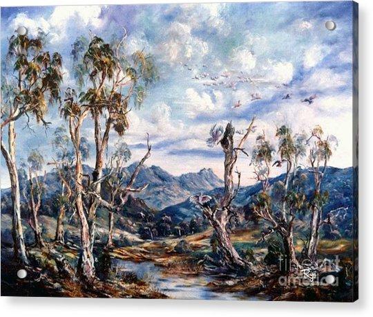Rwetyepme, Mount Sonda Central Australia Acrylic Print