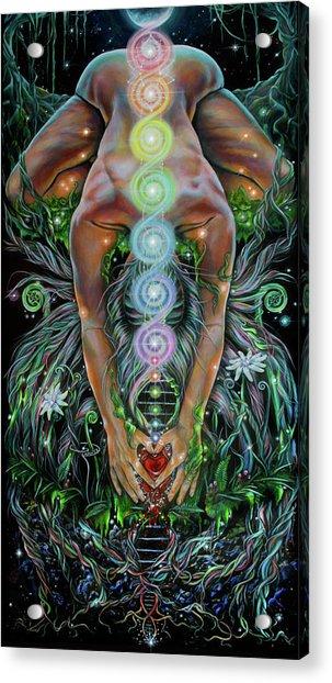 Sacred Cycle Acrylic Print