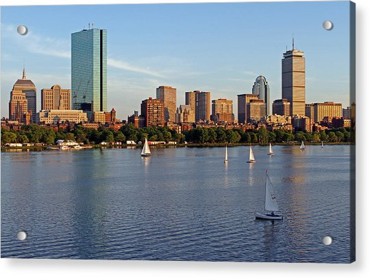 Sail Boston Acrylic Print