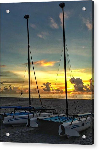 Sailing Vessels  Acrylic Print