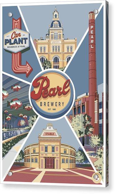 San Antonio's Pearl Acrylic Print