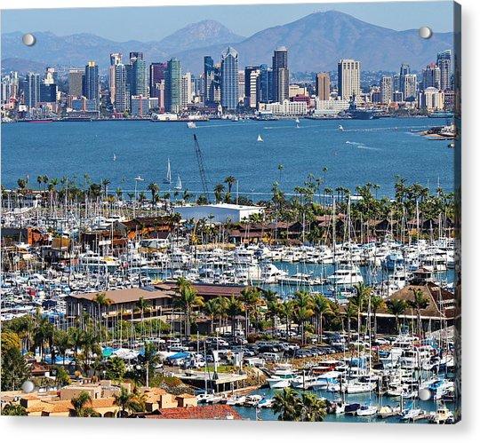 San Diego Yacht Club Acrylic Print