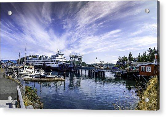 San Juan Island Ferry Acrylic Print