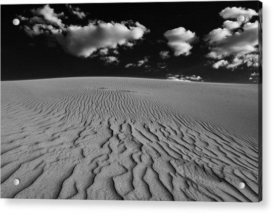 Sand And Sky Acrylic Print