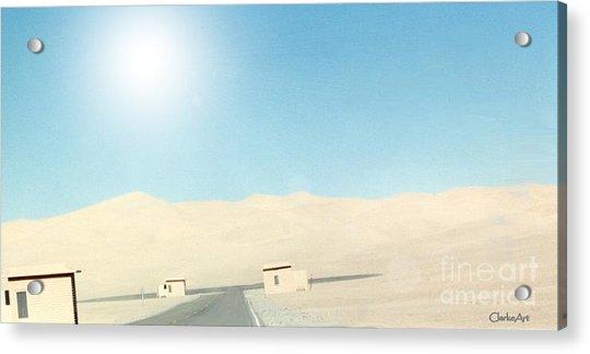 Sand Dune Surreal Acrylic Print