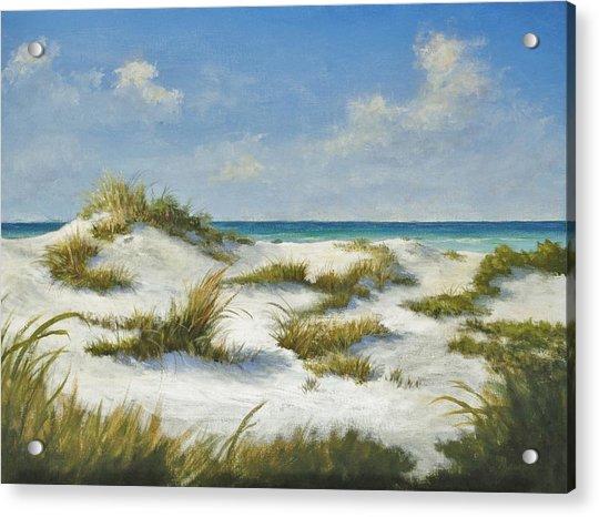 Sand Dunes Morning By Alan Zawacki Acrylic Print