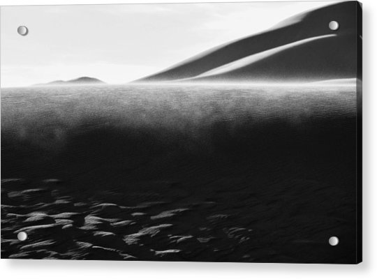 Sand Storm Acrylic Print