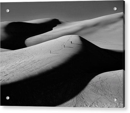 Sand Surfers Acrylic Print