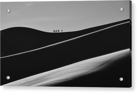Sand Trekkers 2 Acrylic Print
