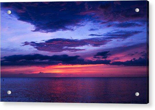 Sanibel Sunset Acrylic Print