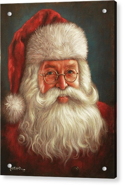 Santa 2017 Acrylic Print
