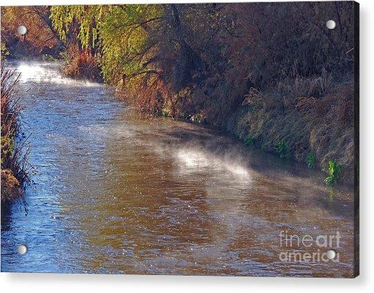 Santa Cruz River - Arizona Acrylic Print