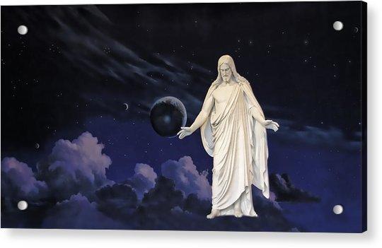Savior Of The World Acrylic Print by Rich Stedman