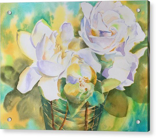 Scent Of Gardenias  Acrylic Print