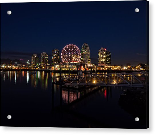 Science World Nocturnal Acrylic Print