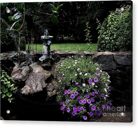 Scotopic Vision 2 - The Porch Acrylic Print