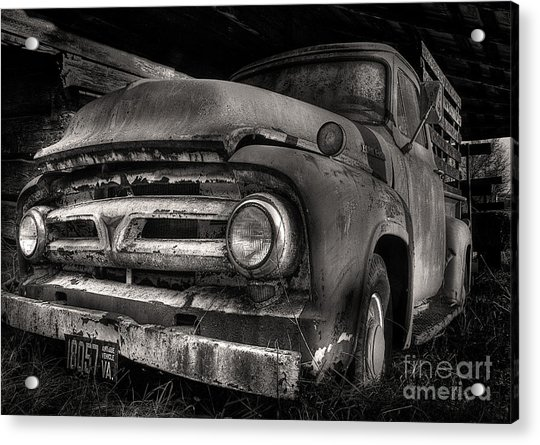 Scotopic Vision 6 - 53 Ford Acrylic Print