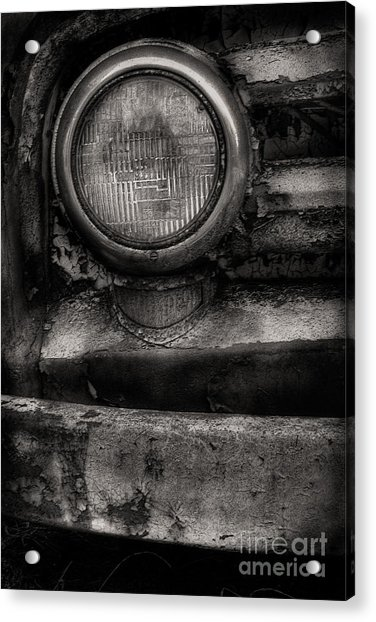Scotopic Vision 7 - Headlight Acrylic Print