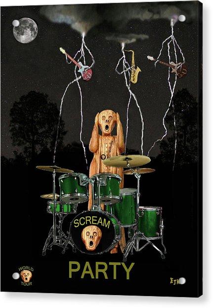 Scream Soul Tour Acrylic Print