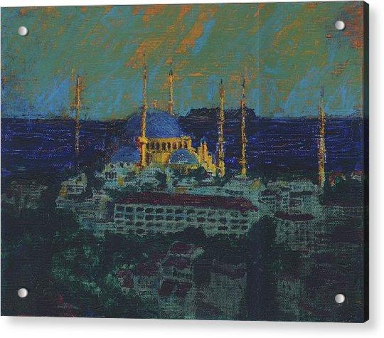 Sea Of Marmara Acrylic Print