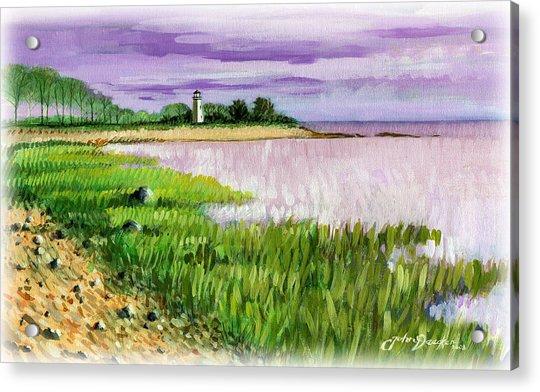 Seaside Park Acrylic Print