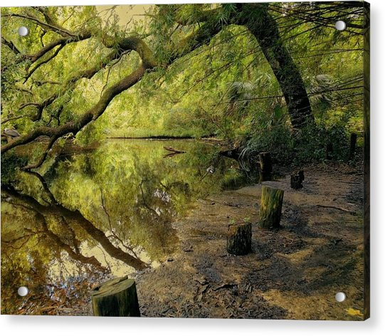 Secluded Sanctuary Acrylic Print