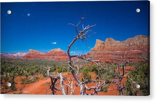 Sedona Blue Acrylic Print