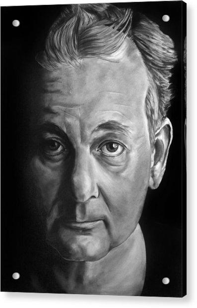 Self Portrait - If I Looked Like Bill Murray Acrylic Print