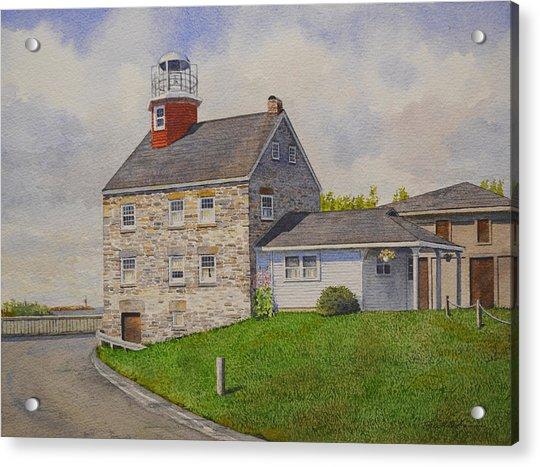 Selkirk Lighthouse Acrylic Print