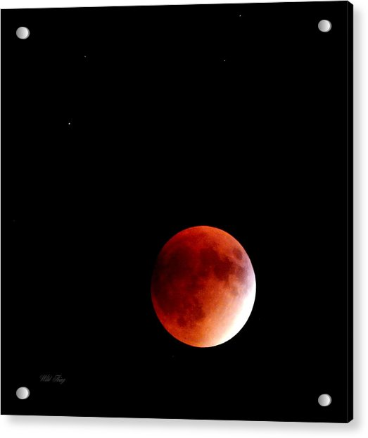 September Bloodmoon 2015 Acrylic Print