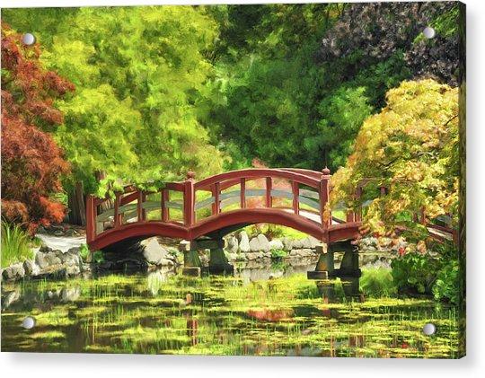 Serenity Bridge II Acrylic Print