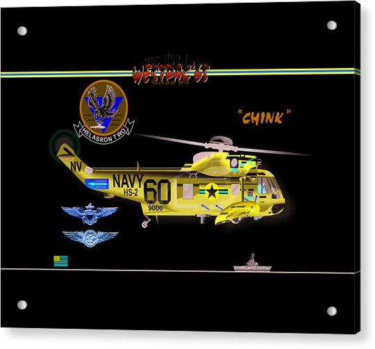 Sh-3a Seaking From Hs-2 Acrylic Print