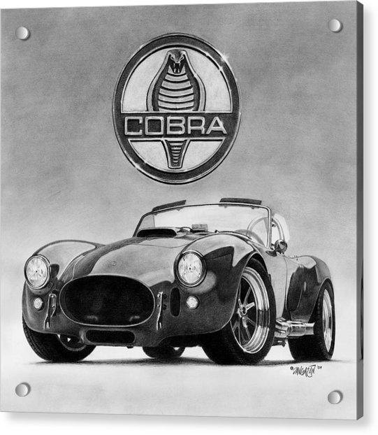Shelby Cobra Acrylic Print