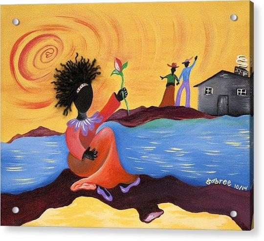 Shore Love Acrylic Print
