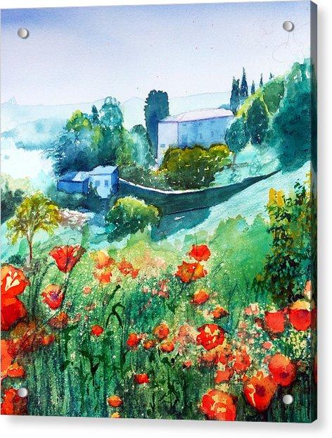 Siena View Acrylic Print