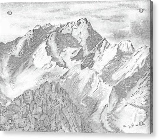 Sierra Mt's Acrylic Print