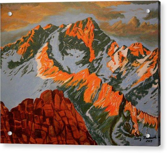 Sierra's Acrylic Print