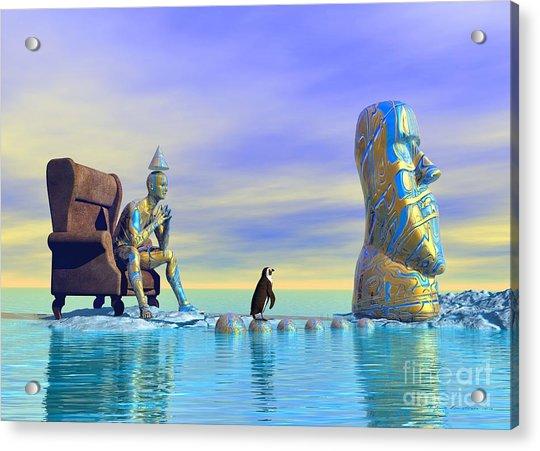 Silent Mind - Surrealism Acrylic Print