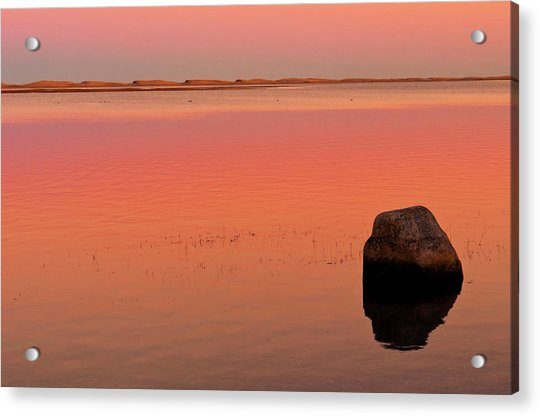 Skaket Beach Sunset 1 Acrylic Print