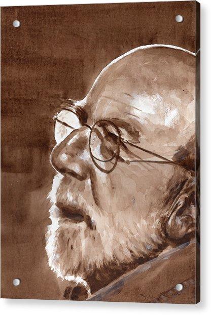 Sketch Of Bill Acrylic Print